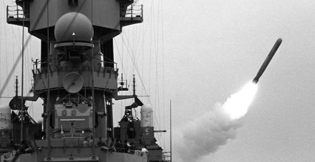 US Tomahawk Missile Photo Credit: Brad Dillon (Wikimedia Commons) Creative Commons