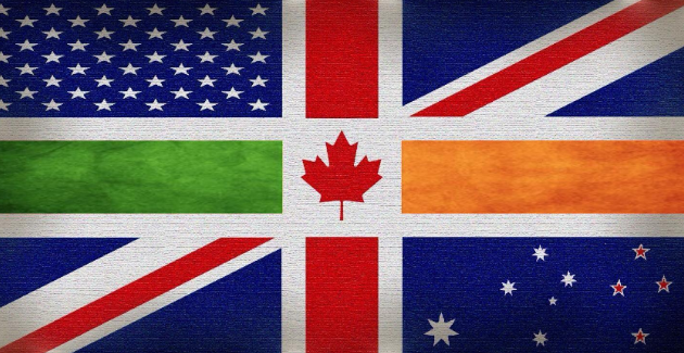 Imagined Anglosphere flag by Twitter user @Anglosphere4UK