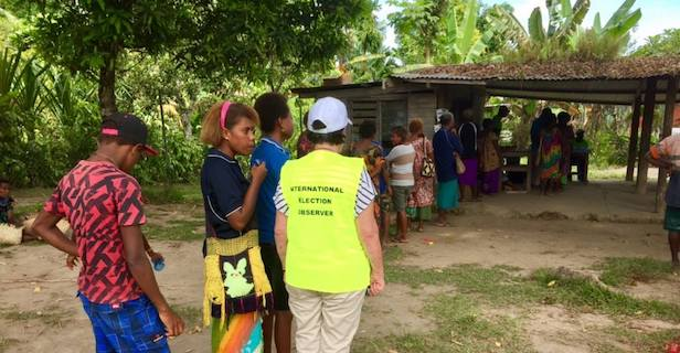Democracy under review in PNG elections