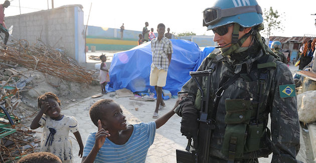 Privatised peacekeeping and the UN