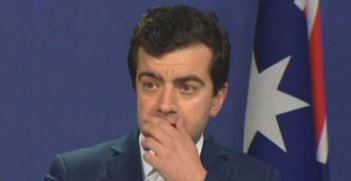 Senator Sam Dastyari has been accused of lobbying the Department of Immigration on behalf of Chinese businessman Huang Xiangmo. Photo: @neighbour_s.