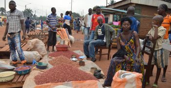 Chantal, a market seller in Bangui, Central African Republic / Photo: Oxfam