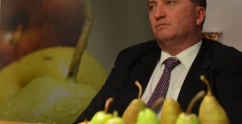 Australian Deputy Prime Minister Barnaby Joyce