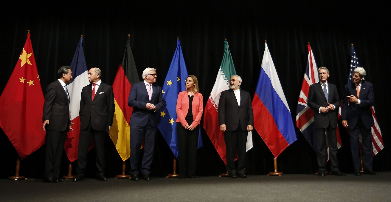 Iran Nuclear Deal Agreement in Vienna, 2015