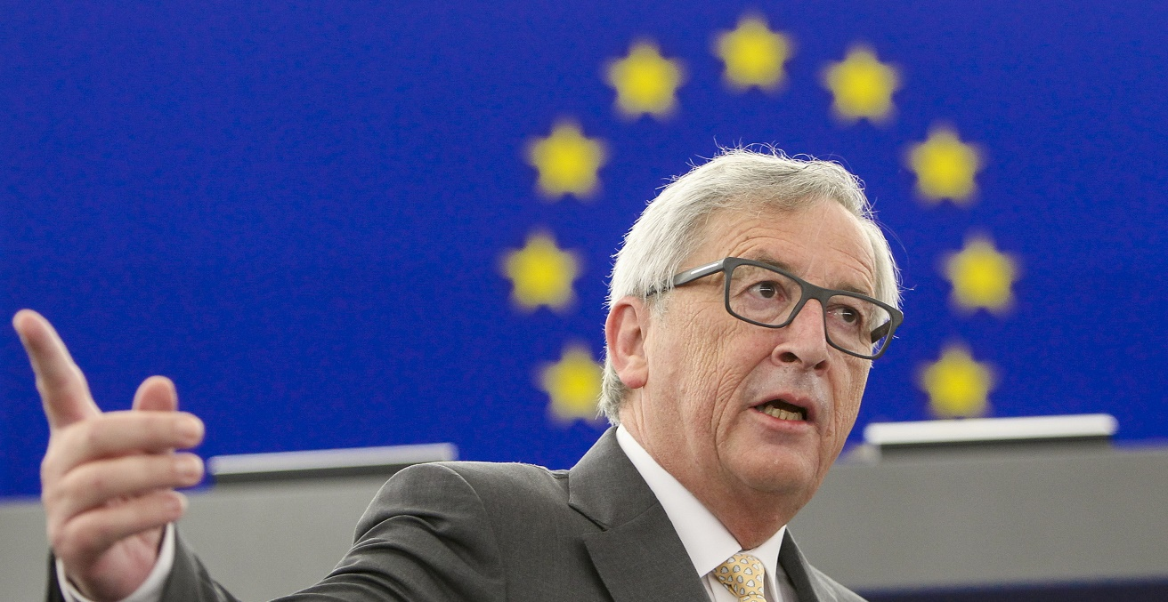 EC President Juncker during plenary debate on 7 July