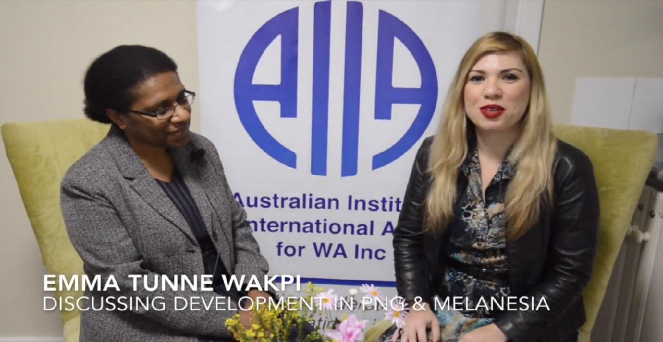 Emma Tunne Wakpi speaks to Flavia Zimmermann for AIIA WA
