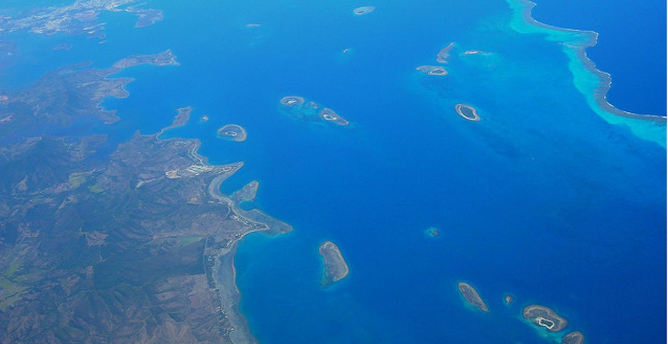 New Caledonia / Edited image courtesy of Flickr user brewbooks