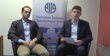 Dr Haroro Ingram speaks to Australian Outlook