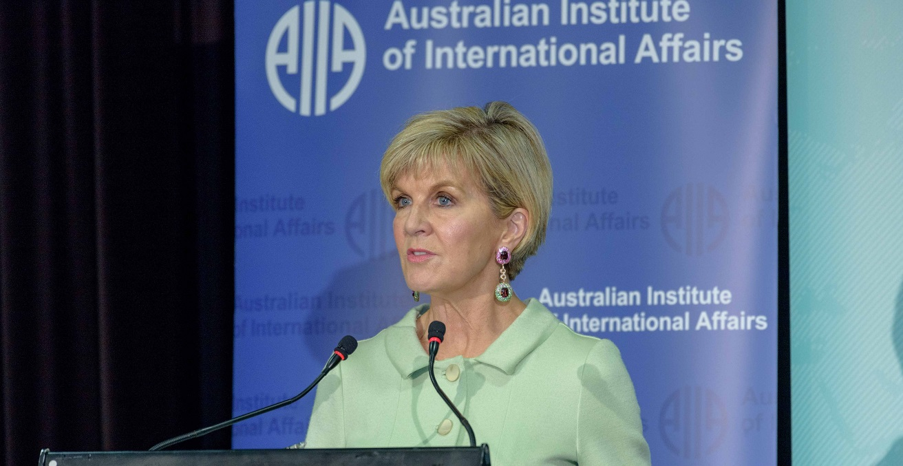 Minister for Foreign Affairs, Julie Bishop MP, speaking at the 2017 AIIA National Conference (16 October 2017)