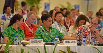 Australia representative attending COP23 in Fiji