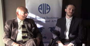 Professor Ramesh Thakur speaks with Australian Outlook editor Nicholas Prehn