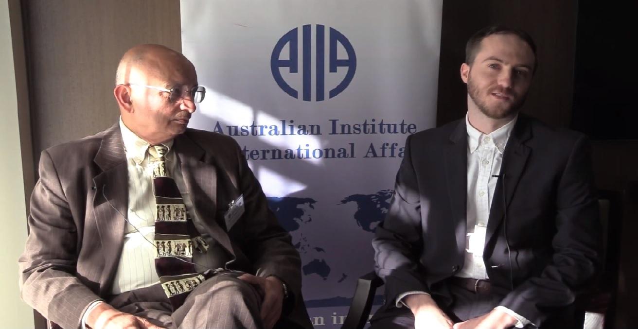 Professor Ramesh Thakur speaks with Australian Outlook editor Nicholas Prehn