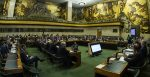 A meeting for the conference on disarmament held in Geneva