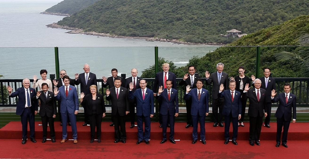The 2017 APEC Leaders' Meeting in Da Nang, Vietnam