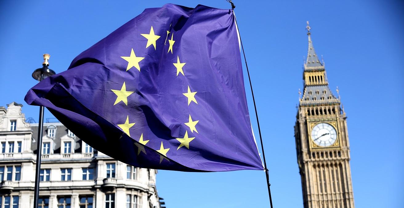 A London Brexit pro-EU protest.