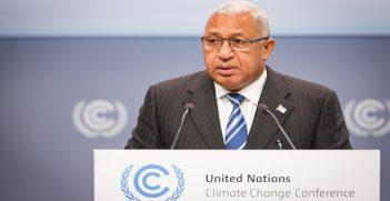 H.E. Mr. Frank Bainimarama, Prime Minister of the Republic of Fiji and COP 23 President Designate