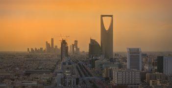 The skyline of Riyadh, the capital of Saudi Arabia