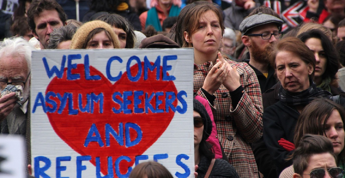 The right to seek asylum has become a hot-button political issue in recent years.