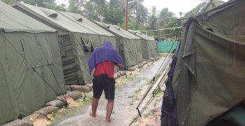 A manus island refugee