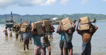 Ethnic tensions exploded earlier this year causing thousands of Rohingya to flee