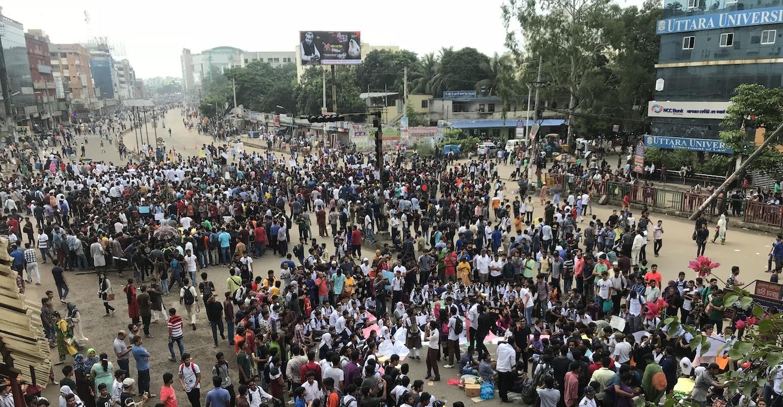 Bangladesh Student Protests 2018