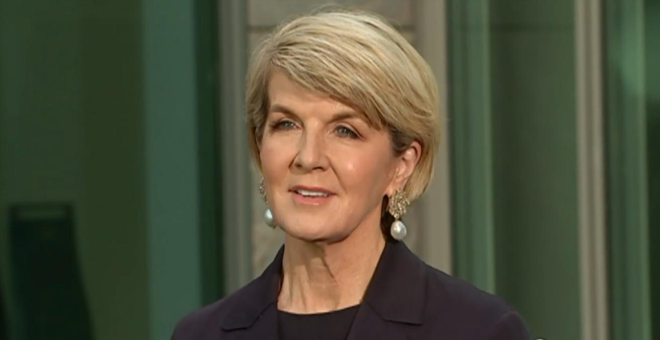 Julie Bishop resign