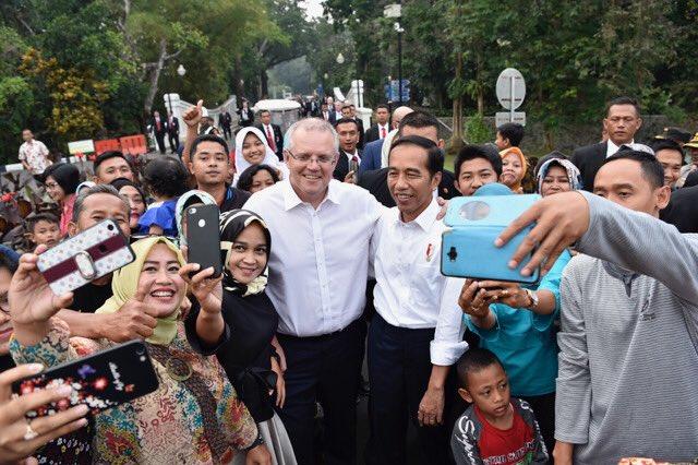 Jakarta, 31 Aug 2018. Credit: Twitter @ScottMorrisonMP