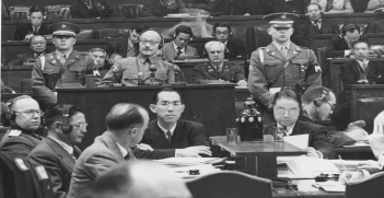 Tokyo War Crimes Trial (credit: Wikipedia Commons)
