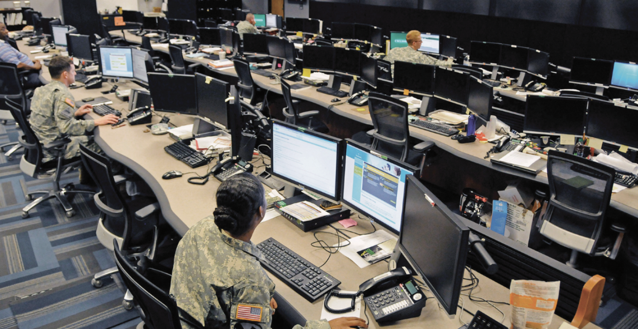 US Cyber Mission Unit's Cyber Operations Center at Fort Gordon, Ga (credit: Flickr)