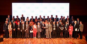 T20 Summit 2018 (Credit: Twitter @noralustig)