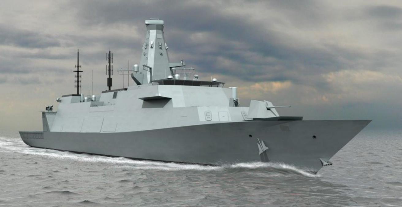 CGI Image of Type 26 Global Combat Ship (Credit: Flickr www.defenceimages.mod.uk)