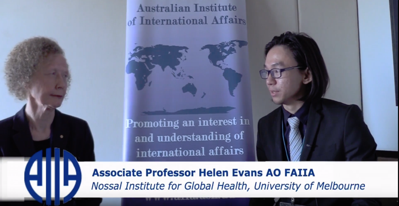 Interview with Associate Professor Helen Evans AO FAIIA at the 2018 AIIA National Conference, 15 October,