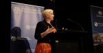 Dr Bec Strating speaking at #AIIA18, 15 October 2018 (Credit: Lauren Skinner, AIIA former intern)