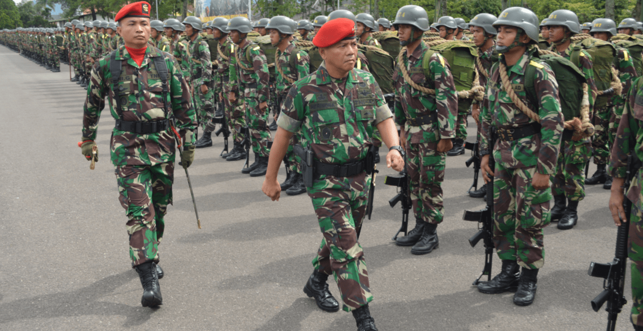 Indonesian Army. Source: Wikimedia Commons.