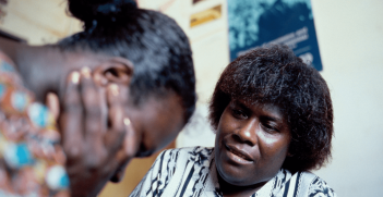 Counselling service for women in PNG. Source: Flickr.