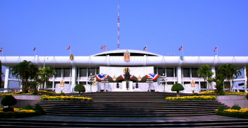 Thai Parliament House. Source: Wikimedia Commons.