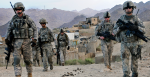 U.S. Soldiers depart Forward Operating Base Baylough, Afghanistan. Source; Wikimedia Commons.
