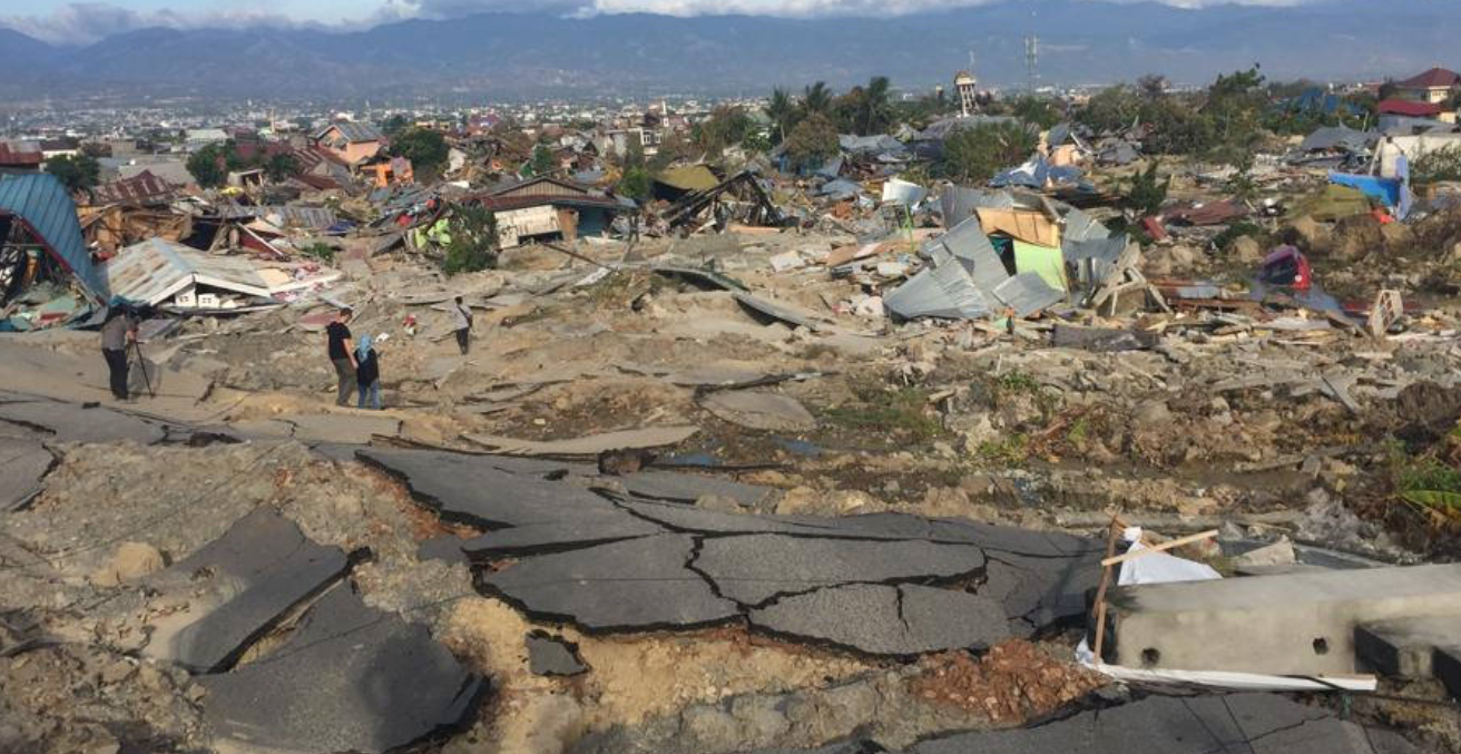 Sulawesi Earthquake. Source: Flickr.