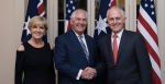 New year, new look? A rocky 2018 saw Julie Bishop, Rex Tillerson and Malcolm Turnbull bumped from their respective positions as Australian Minister for Foreign Affairs, US Secretary of State and Australian Prime Minister. Source: US State Department, Flickr