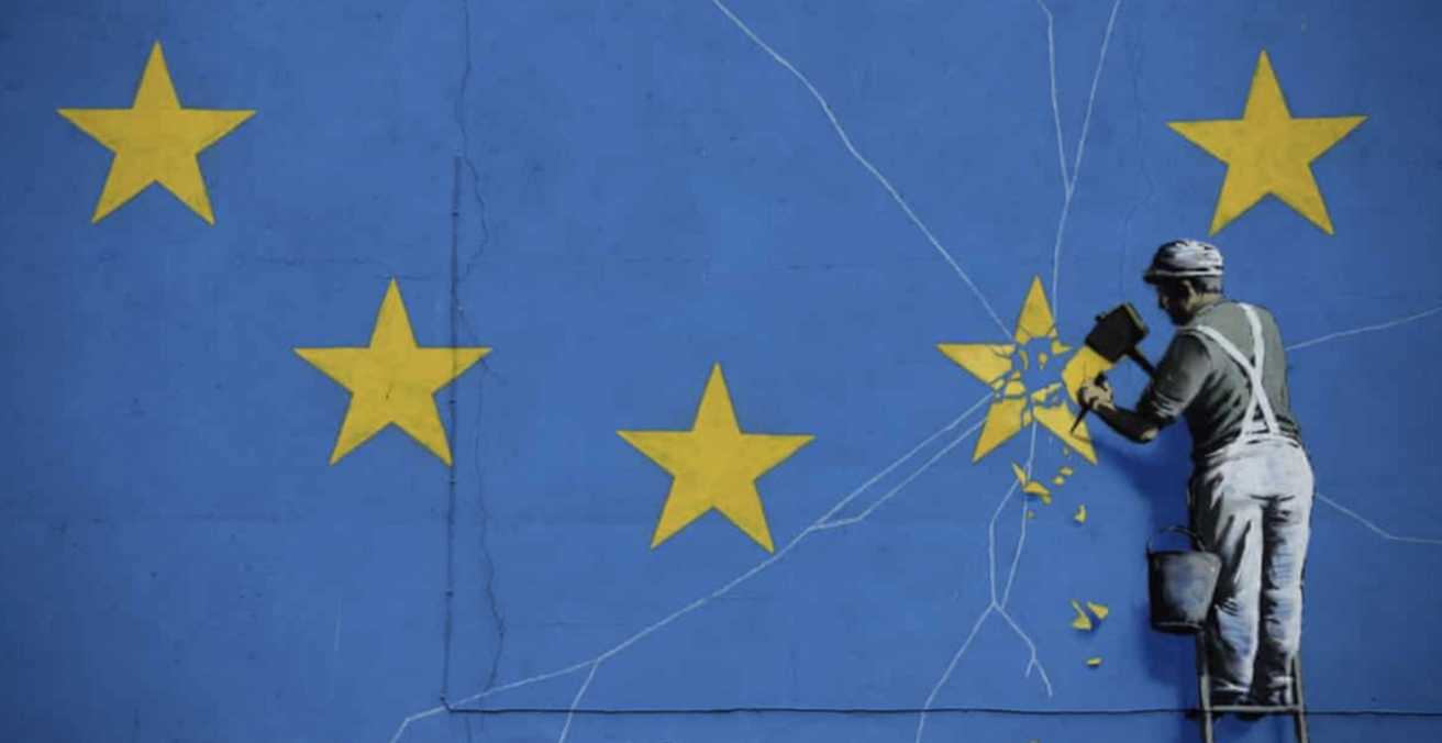 A representation of Brexit by Banksy. Source: Flickr