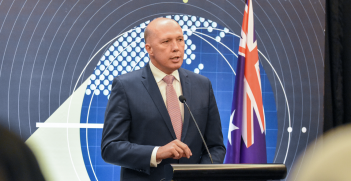 Home Affairs Minister Peter Dutton revoked the Australian citizenship of ISIS foreign fighter Neil Prakash. Source: Australian Embassy Jakarta, Flickr