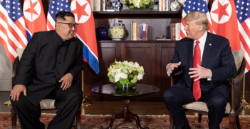 President Trump has announced he will meet with Kim Jong Un in Vietnam in February. Source: Wikimedia