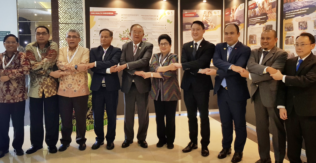 ASEAN health ministers meet in Bali, Indonesia and renew their commitment to fight communicable and emerging infectious diseases in November 2018. Source: ASEAN