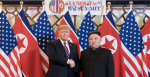 President Trump and Kim Jong Un meet in Hanoi, Vietnam. Source: The White House