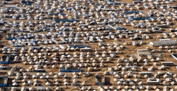 The Za'atri refugee camp in Jordan. Syrians forced to flee to Jordan are bringing charges against Assad and members of his regime in the ICC. Source: United Nations Photo, Flickr