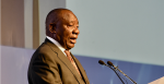 President Cyril Ramaphosa addresses the Independent Electoral Commission's Official Announcement of the sixth National and Provincial Democratic Elections Results at the Tshwane Events Centre in Pretoria. Photo: GovernmentZA, Flickr,https://bit.ly/1dGcPd3.