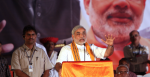 Modi campaigning leading up to the election. Source: Flickr http://bit.ly/2WcZ14M