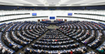 The Hemicycle of the European Parliament in Strasbourg during a plenary session in 2014. Cropped. David Iliff. License: https://creativecommons.org/licenses/by-sa/3.0/legalcode