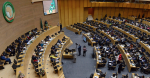 The African Union meets in 2017. Source: Flicker, GovernmentZA http://bit.ly/2HVunos