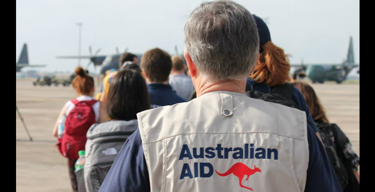 Australian Aid spending has been tumultuous. Source: Flickr, DFAT http://bit.ly/2K5U5rY
